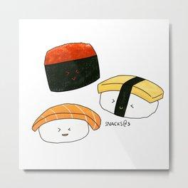 Sushi Party Time Metal Print