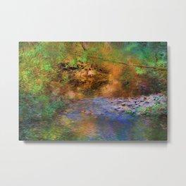 Fantasy Lake Stream Metal Print