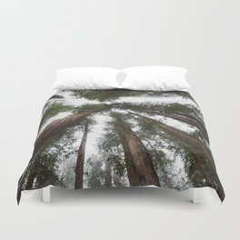 Redwood Portal - nature photography Duvet Cover