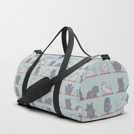 British Shorthair Cat  Yoga Duffle Bag
