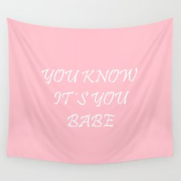 Babe Wall Tapestry