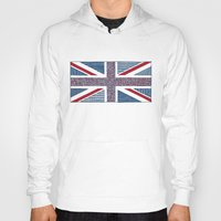 uk Hoodies featuring Lovely UK by Anita Ivancenko