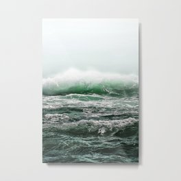 EMERALD SEA Metal Print