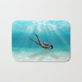 S.C.U.B.A. Diver Bath Mat