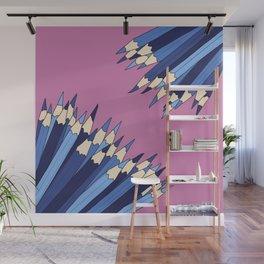 Dueling Pencils Wall Mural