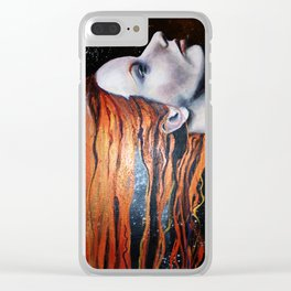 The Redhead Clear iPhone Case