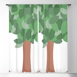 Trees Blackout Curtain