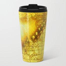 LE PAPILLON | yellow Travel Mug