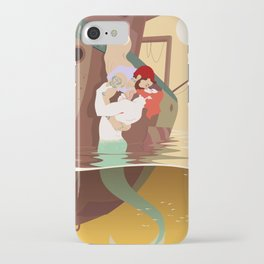 Merman and Sailor iPhone Case