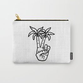 Peace Palms Carry-All Pouch