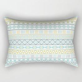 Aztec Influence Ptn Colorful Rectangular Pillow