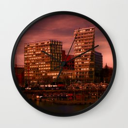 Liverpool One and Salt house Dock Wall Clock