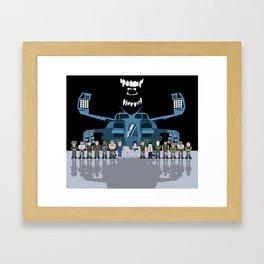 USS Sulaco Crew  Framed Art Print