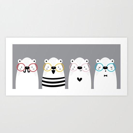 Osos Art Print