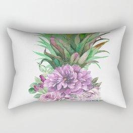 Floral Pineapple 1 Rectangular Pillow