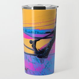 On Edge -  Stunt Scooter Artwork Travel Mug