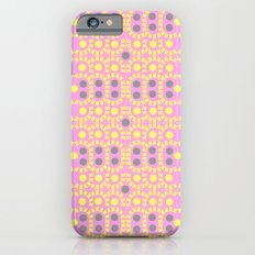 Pink and borders iPhone 6s Slim Case