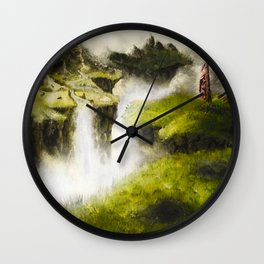 Abandoned Lands Wall Clock