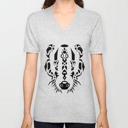 Tribal Badger Unisex V-Neck