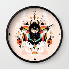 Rainbow Queen Wall Clock