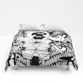 Prince Donster, Guardian of the Tropics (b/w) Comforters