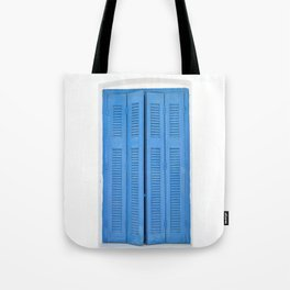 The Blue Window, Milos Tote Bag