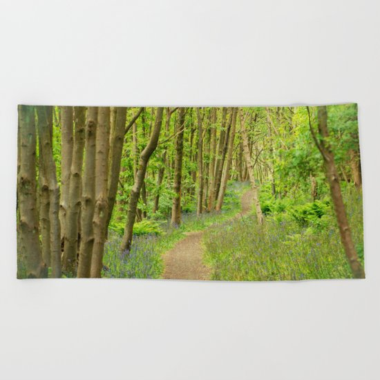 FOREST PEACE Beach Towel