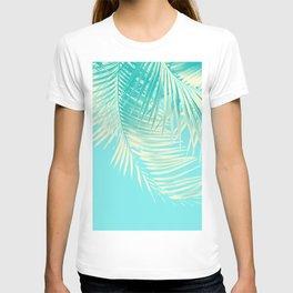 Palm Leaves Summer Vibes #4 #tropical #decor #art #society6 T-shirt