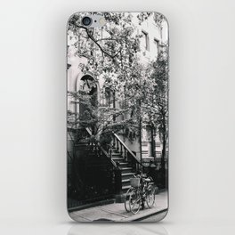 New York City - West Village Street and Bicycles iPhone Skin