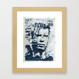 boundary Framed Art Print