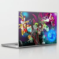 league of legends Laptop & iPad Skins featuring League of Legends by Hetty's Art