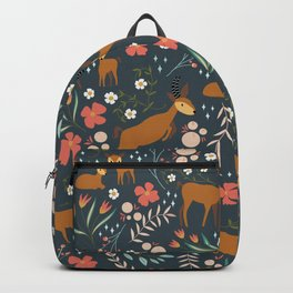 A Herd of Antelope | Retro Colours Backpack