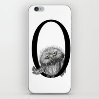 letter iPhone & iPod Skins featuring Letter  by Svenningsenmoller Design