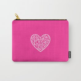 Te quiero. Pink Carry-All Pouch