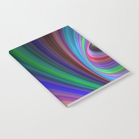 Vivid storm Notebook