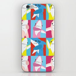 Left Shark Pop Art iPhone Skin