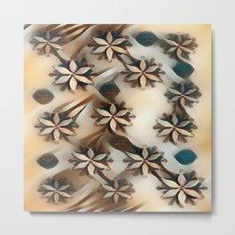 """Snowflake Beauty II"" Metal Print"