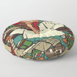 """""""Dig"""" Print by Sadie Wendell Mitchell Floor Pillow"""
