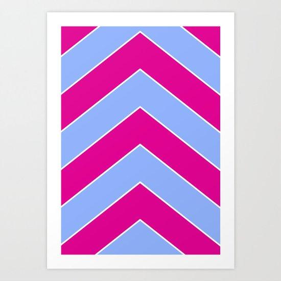 LOOKING UP 4 Art Print