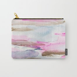 Modern Fluid Abstract Colors Composition Carry-All Pouch