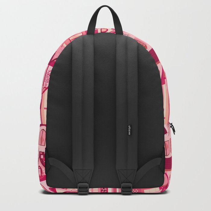 Pink Little Town Backpack