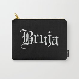 Bruja (White Text) Carry-All Pouch