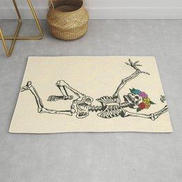 Dancing Skeleton Rug
