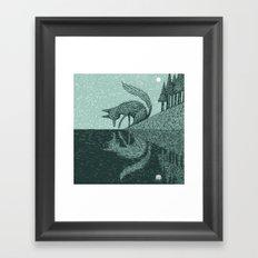 'Tell Me It's Real' Framed Art Print