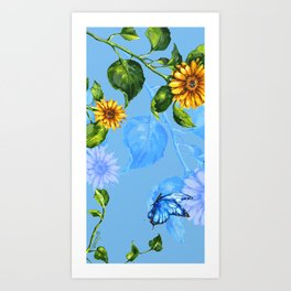 Sunflower's Glory Art Print