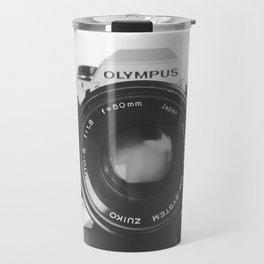 Olympus Camara Travel Mug