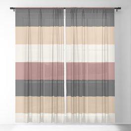 Fall Dream Sheer Curtain