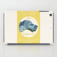 the hound iPad Cases featuring HOUND. by LiseRichardson