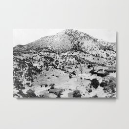 Santa Cruz County, Arizona. 1909 Metal Print