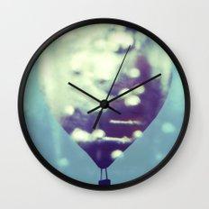 Cold Air Balloon Wall Clock
